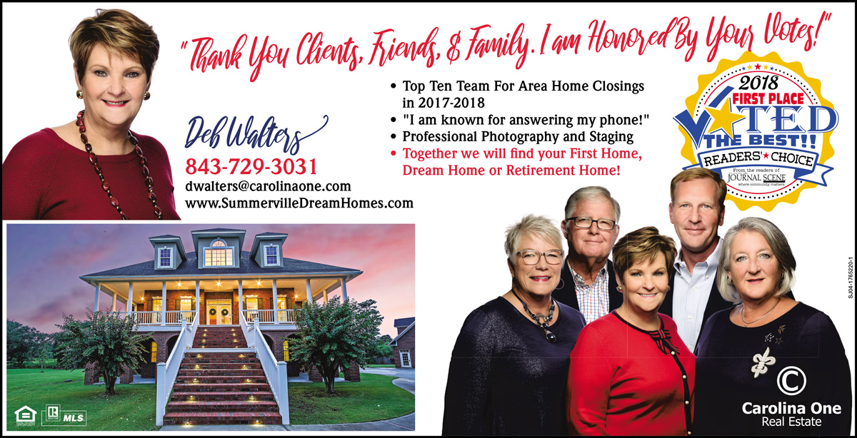 Voted the best in Summerville real estate